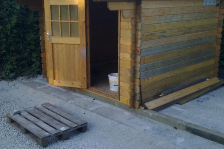 gartenhaus wiederaufbau mit dem uneo bauanleitung zum selberbauen 1 2 deine. Black Bedroom Furniture Sets. Home Design Ideas