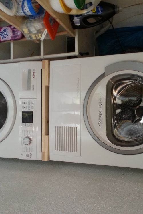 Herstellung einer Waschmaschinen/Trockner Säule - Bauanleitung zum ...