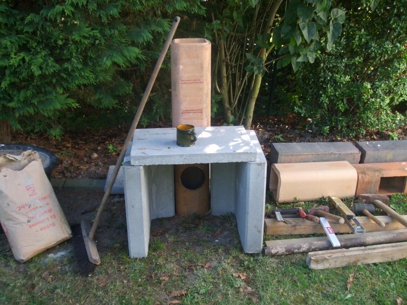 Steinofen Im Garten Bauanleitung Zum Selberbauen 1 2 Do