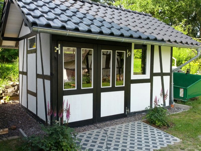 Relativ Bau eines Fachwerkhaus - Bauanleitung zum Selberbauen - 1-2-do.com YD83