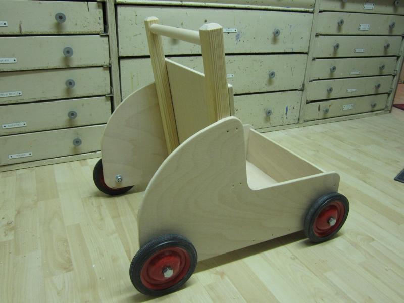 Lauflernwagen für Kleinkinder - Bauanleitung zum ...