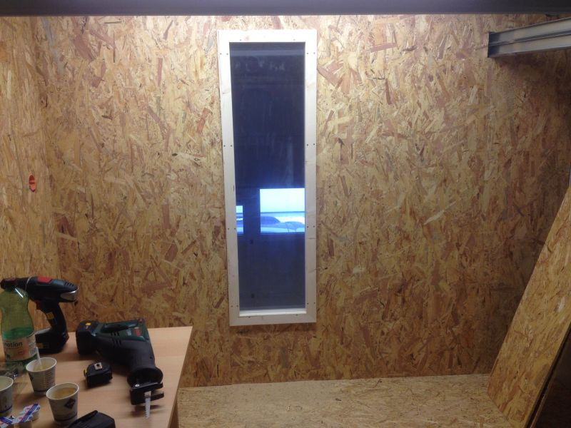 Beliebt Fenster für Aufenthaltsraum - Bauanleitung zum Selberbauen - 1-2 MH36