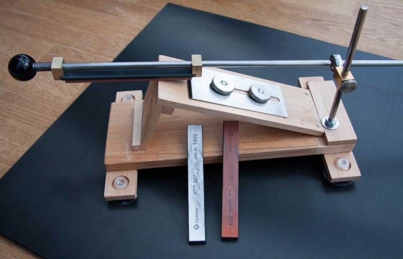 Schleifhilfe messer selber bauen