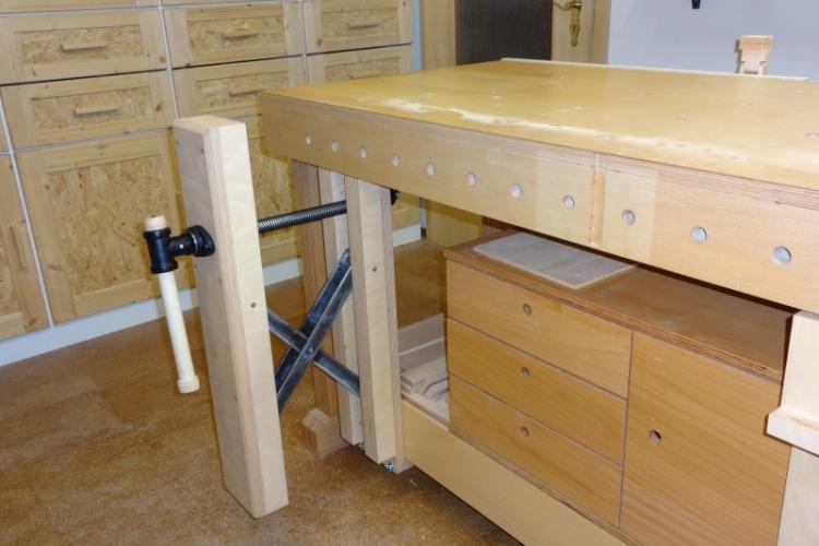 versetzbare vorderzange f r werkbank bauanleitung zum selberbauen 1 2 deine. Black Bedroom Furniture Sets. Home Design Ideas