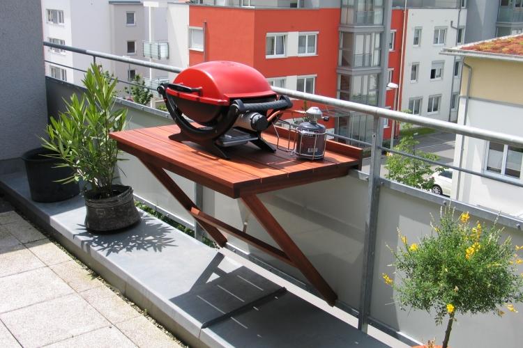 Klapptisch Fur Den Balkon Bauanleitung Zum Selberbauen 1 2 Do