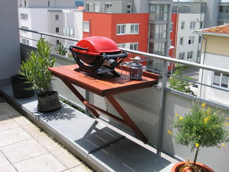 Balkon klapptisch selber bauen  Klapptisch für den Balkon - Bauanleitung zum Selberbauen - 1-2-do ...