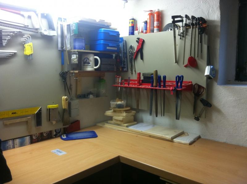 Häufig Einrichten einer Werkstatt im Keller - Bauanleitung zum JX09