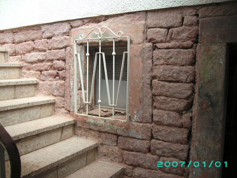 Extrem Freilegung Sandstein-Kellermauer - Bauanleitung zum Selberbauen FR62