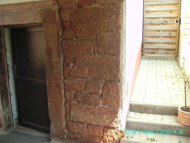 Beliebt Freilegung Sandstein-Kellermauer - Bauanleitung zum Selberbauen ID94