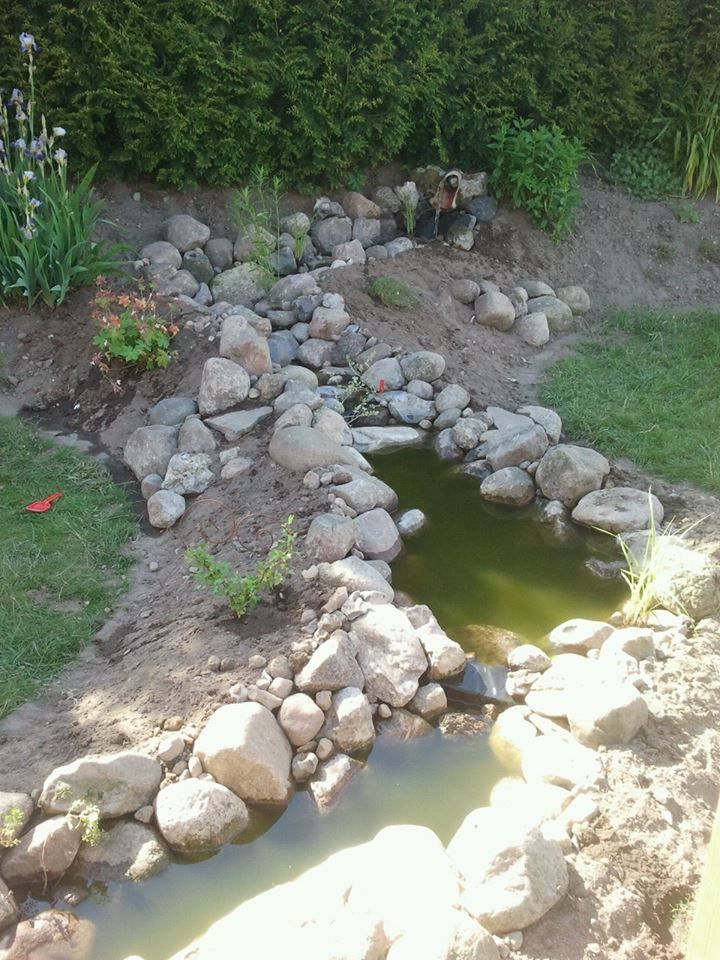 Bachlauf (8m) ohne Teich - Bauanleitung zum Selberbauen - 1 ...