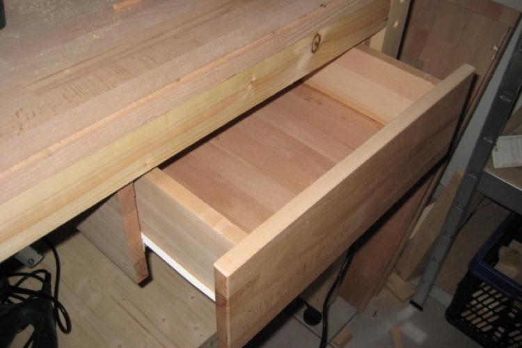 werkbank erweiterung 2 schublade bauanleitung zum selberbauen 1 2 deine heimwerker. Black Bedroom Furniture Sets. Home Design Ideas