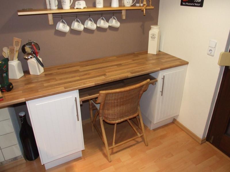 ausziehbarer tisch unter arbeitsplatte ostseesuche com. Black Bedroom Furniture Sets. Home Design Ideas