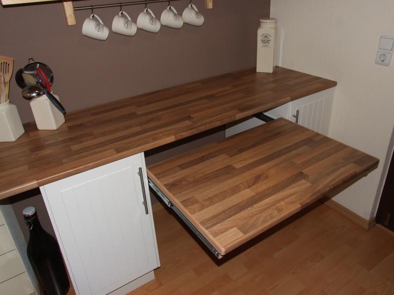 Ausziehbarer Tisch Unter Arbeitsplatte