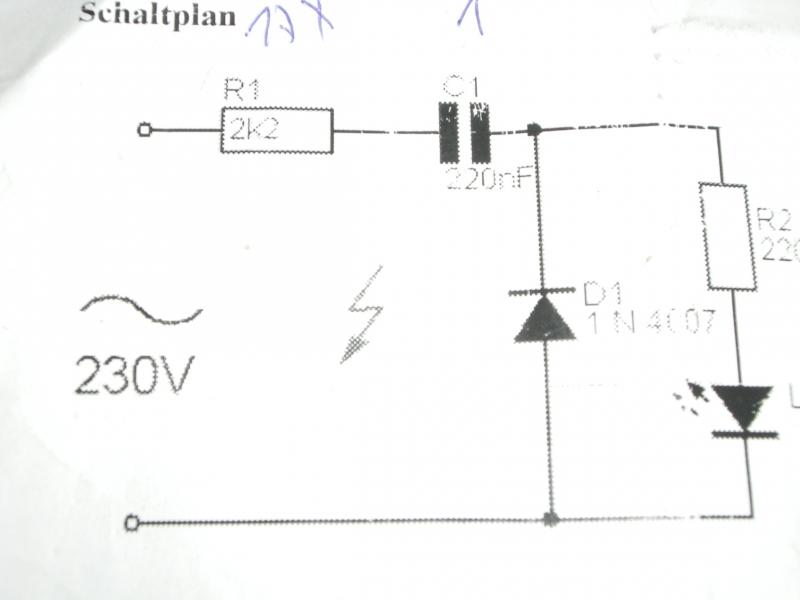 LED Signalisation am Lichtschalter - Bauanleitung zum Selberbauen ...