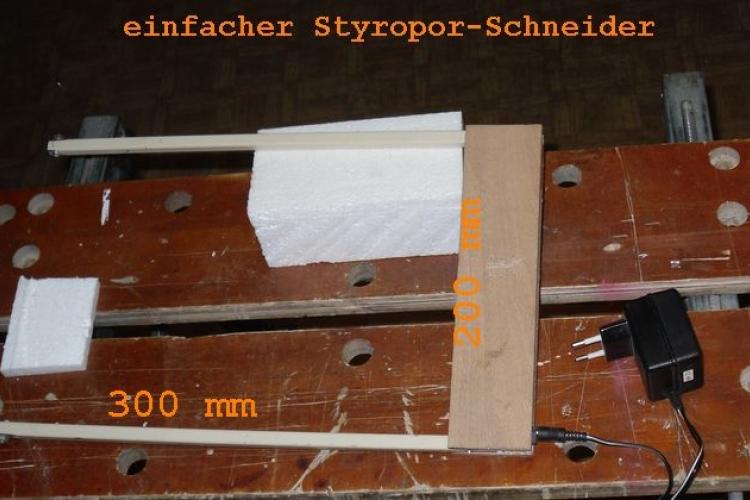 styroporschneider thermoschneider bauanleitung zum selberbauen 1 2 deine. Black Bedroom Furniture Sets. Home Design Ideas