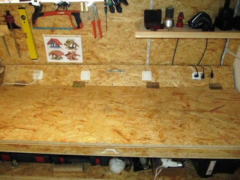 werkbank teil 1 umbau einer werkstatt bauanleitung zum selberbauen 1 2 deine. Black Bedroom Furniture Sets. Home Design Ideas