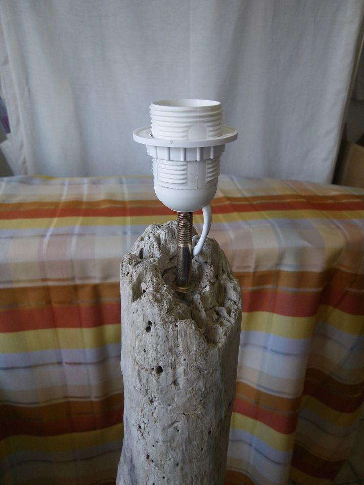 Stehlampe Aus Treibholz Bauanleitung Zum Selberbauen 1 2 Do