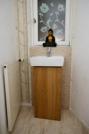 Günstig und schnell gebaut: Schicke Waschtisch-Säule fürs ...