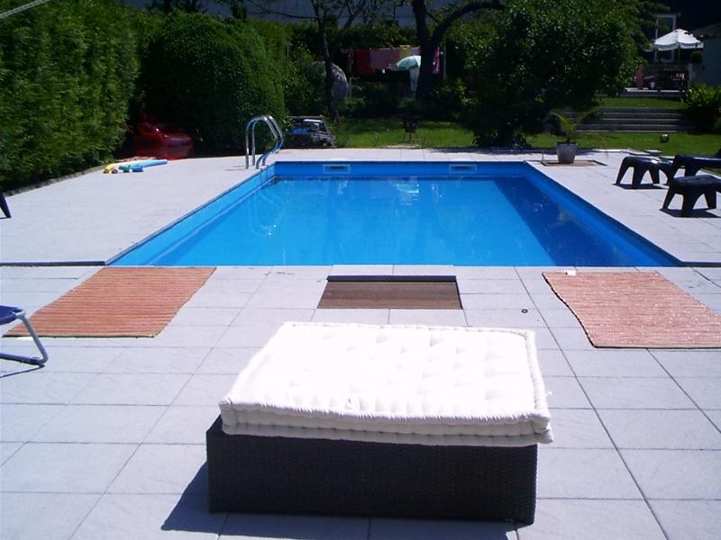 Schwimmbad / Aussenpool selber bauen - Bauanleitung zum Selberbauen ...