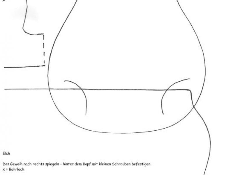 Bastel-Elch - Bauanleitung zum Selberbauen - 1-2-do.com - Deine ...