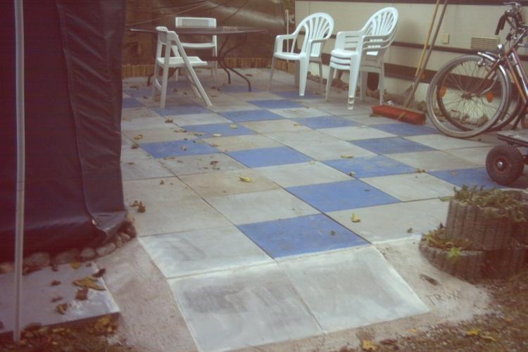 gestaltung einer vorzelt terrasse bauanleitung zum selberbauen 1 2 deine heimwerker. Black Bedroom Furniture Sets. Home Design Ideas