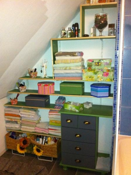 Regal fürs Bad mit Dachschräge - Bauanleitung zum Selberbauen - 1-2 ...