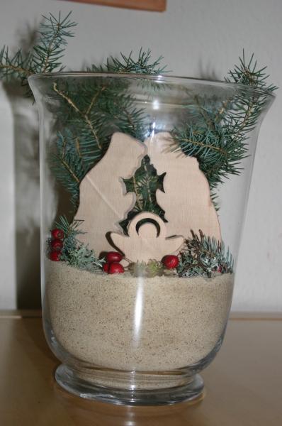 Weihnachtsdeko Für 1 Euro.Weihnachtsdeko Krippe Im Glas Bauanleitung Zum Selberbauen 1 2