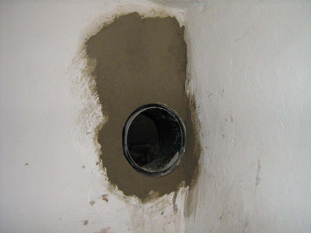Häufig Ofenanschluß an einem Schornstein aus Mauerwerk herstellen ZA75