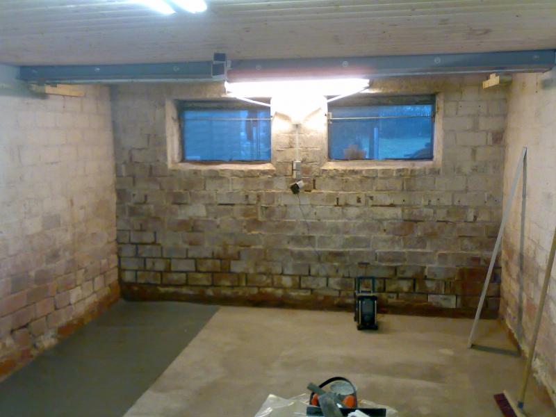 Atemberaubend Werkstatt Boden neu betonieren - Bauanleitung zum Selberbauen - 1 @AE_33