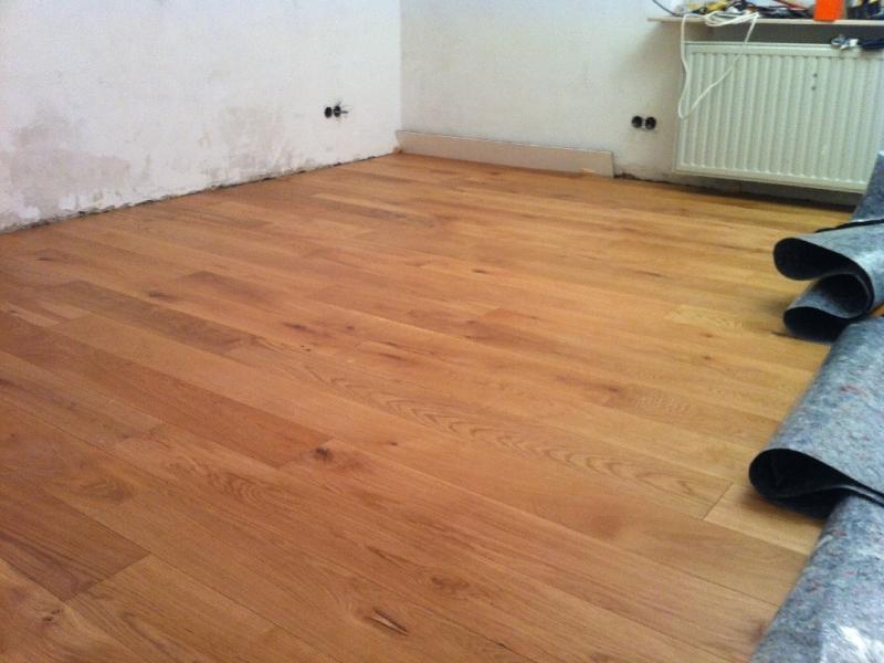 Fußboden Erneuern Altbau ~ Massivholzdielen im altbau verlegen bauanleitung zum selberbauen