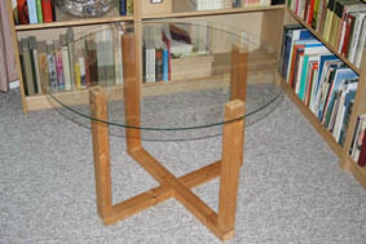 Selbstbau Tisch Mit Glasplatte Bauanleitung Zum