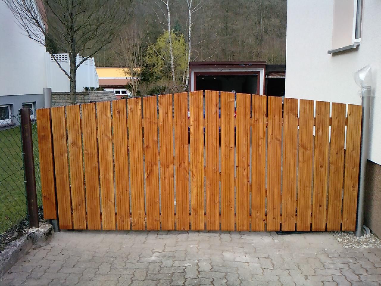 Beliebt Hoftor aus robustem Douglasie - Bauanleitung zum Selberbauen - 1-2 UB81