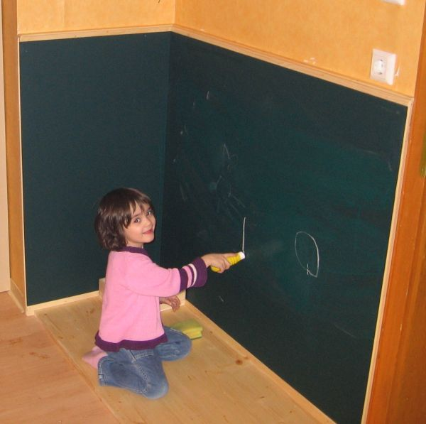 Kinder Wandtafel - Bauanleitung zum Selberbauen - 1-2-do.com ...