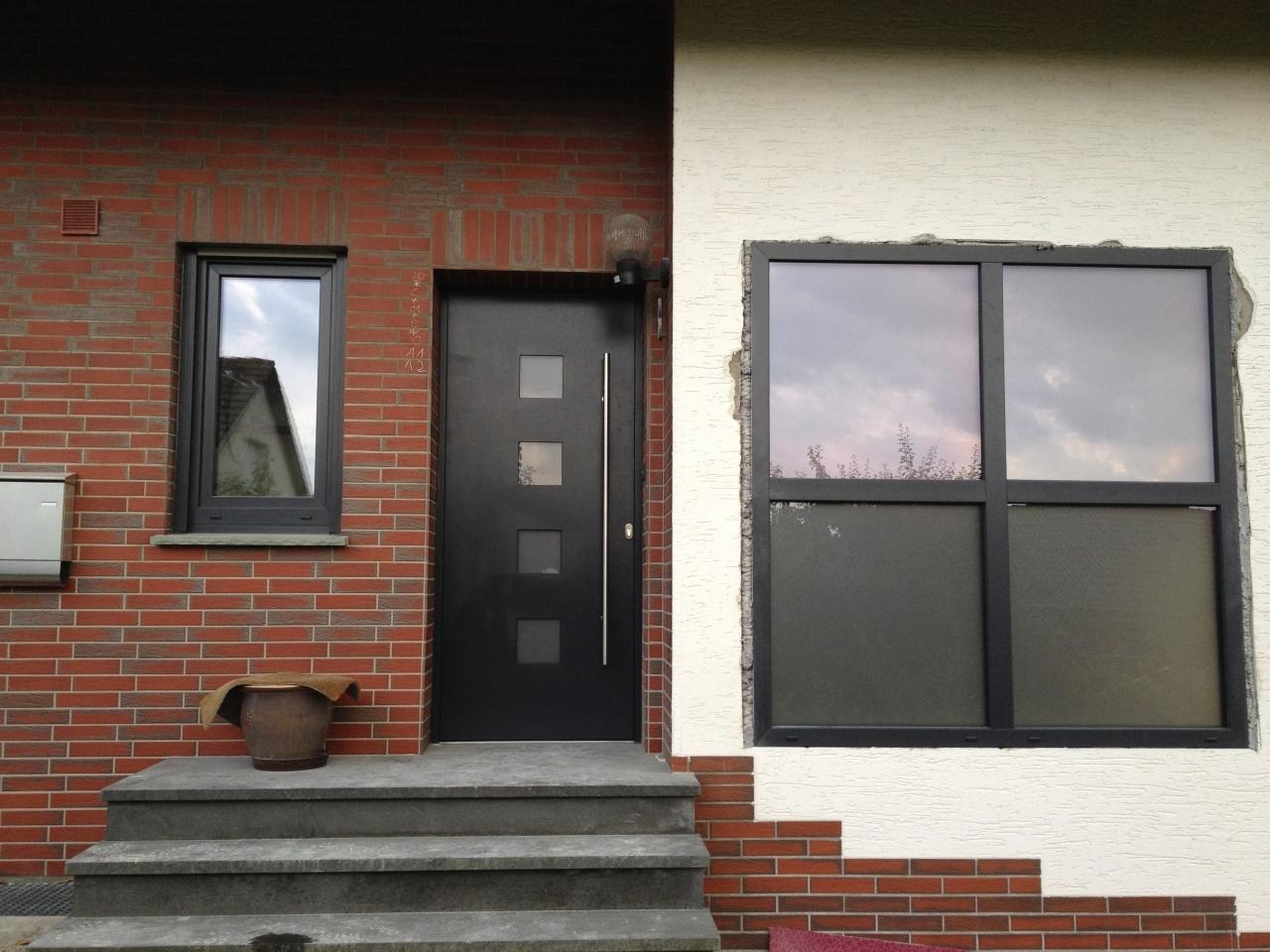 glasbausteine ersetzen vorher nachher wohn design. Black Bedroom Furniture Sets. Home Design Ideas