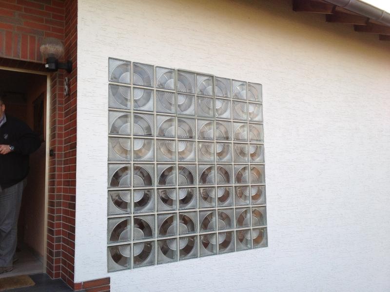 Glasbausteine Durch Richtige Fenster Ersetzen Bauanleitung Zum