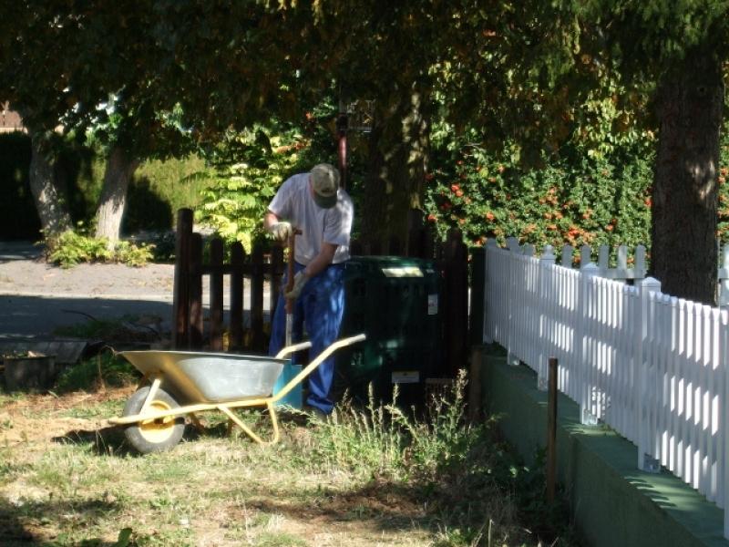 Fundament f r das gartenhaus bauanleitung zum selberbauen 1 2 deine heimwerker - Gartenhaus abstand zum nachbarn ...
