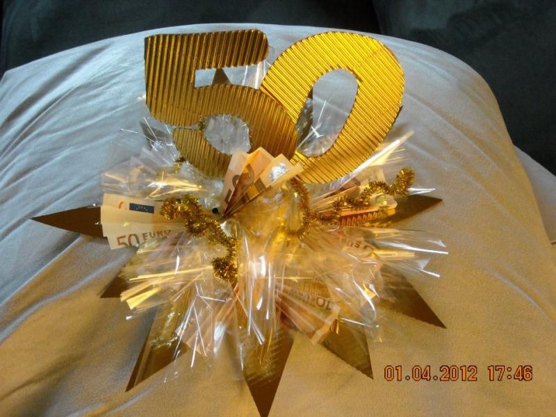 Geldgeschenk Goldene Oder Silberne Hochzeit Bauanleitung Zum