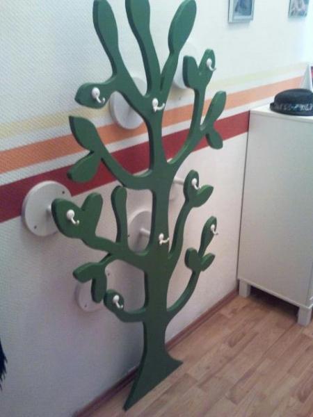 Baum Garderobe Bauanleitung Zum Selberbauen 1 2 Docom