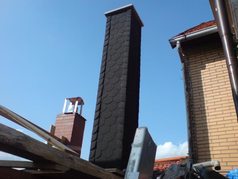 Fabulous Schornstein für einen Kaminofen - Bauanleitung zum Selberbauen - 1 VJ28
