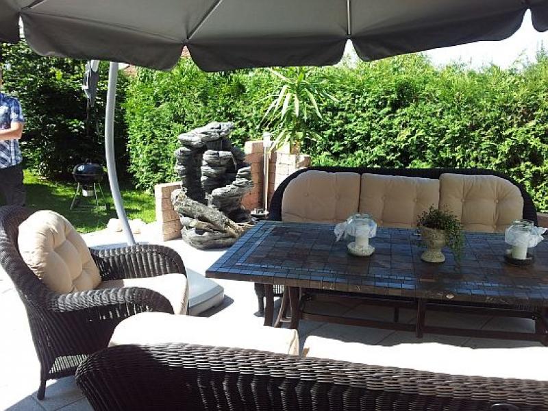 bau einer 36 m2 terrasse mit steinmauer bauanleitung zum selberbauen 1 2 deine. Black Bedroom Furniture Sets. Home Design Ideas