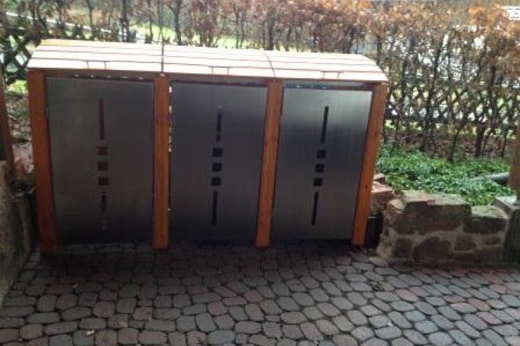 Bau Einer Mülltonnenbox Bauanleitung Zum Selberbauen 1 2 Docom