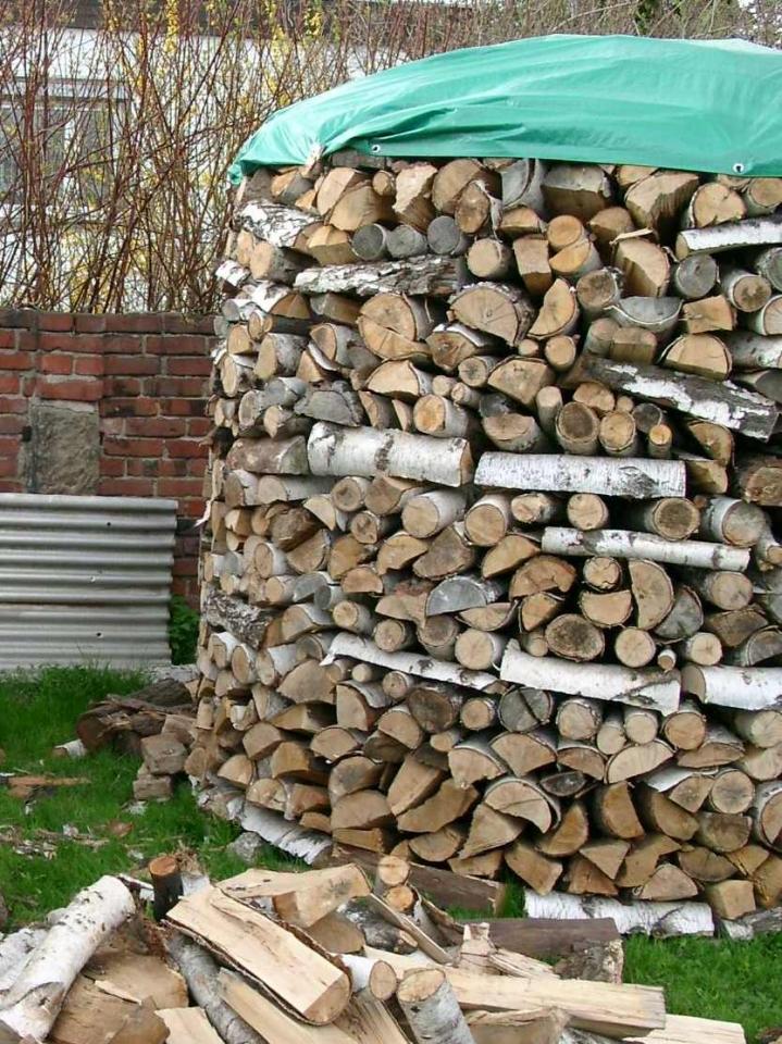 Runde Holzmiete Bauanleitung Zum Selberbauen 1 2 Docom Deine