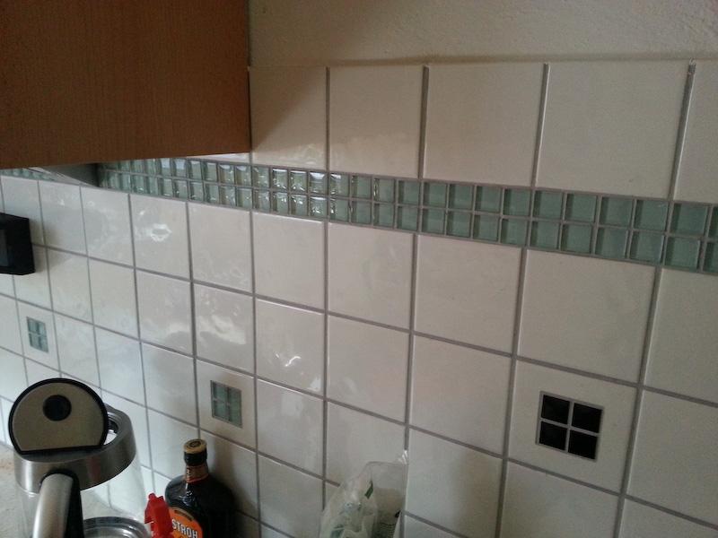 Fliesen überkleben Bauanleitung Zum Selberbauen Docom - Fliesen in küche überkleben