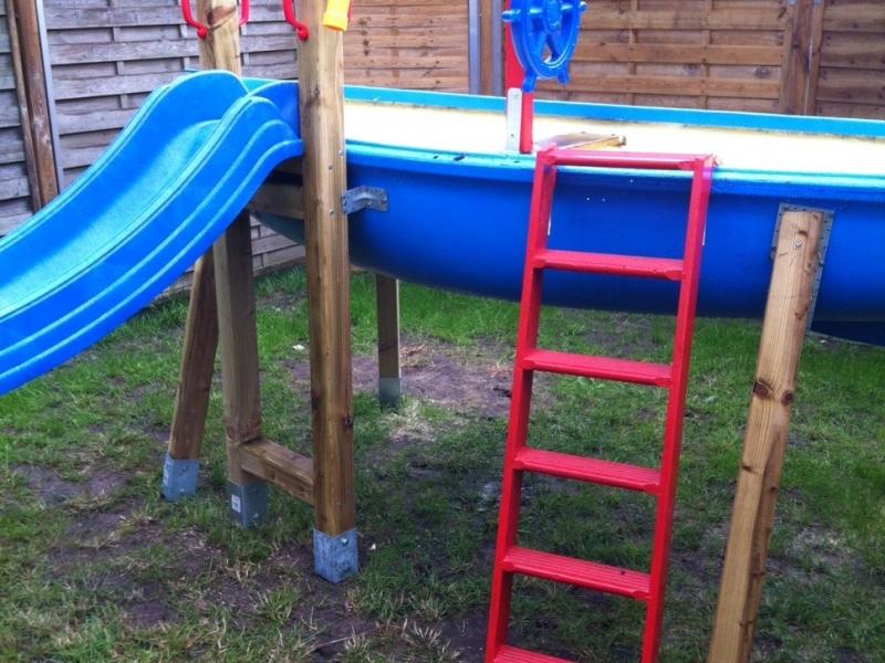 Klettergerüst Bauanleitung : Bauanleitung für ein klettergerüst mit wackelbrücke