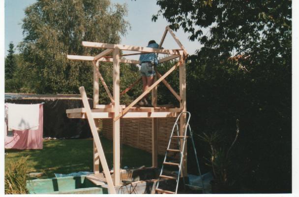 Baumhaus Ohne Baum Bauanleitung Zum Selberbauen 1 2 Do