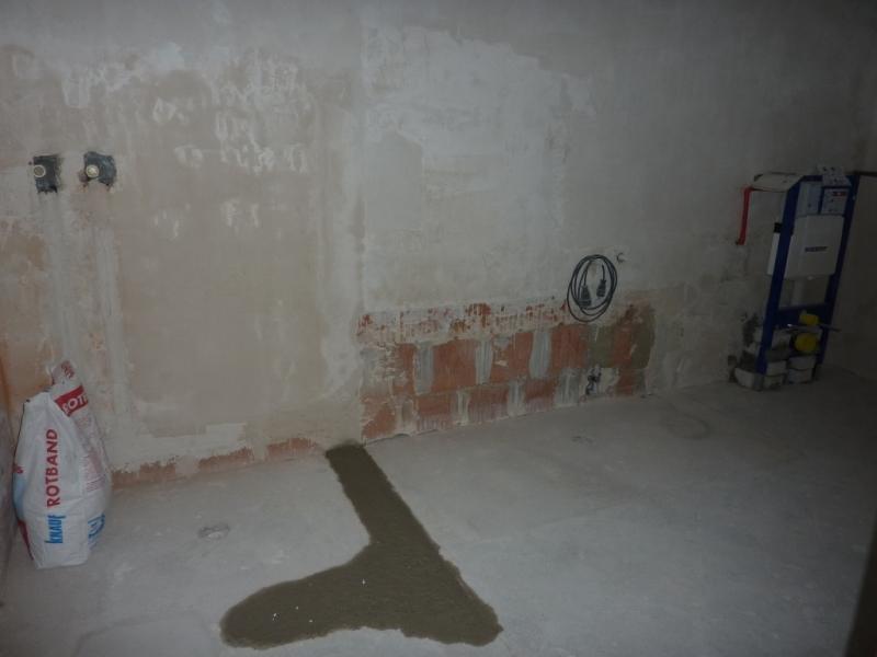 Badezimmer Renovieren Bauanleitung Zum Selberbauen Docom - Rotband auf fliesen