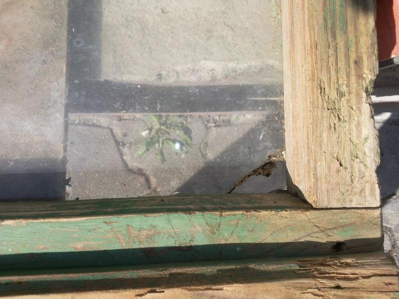Alter Fensterrahmen als Bilderrahmen - Bauanleitung zum Selberbauen ...