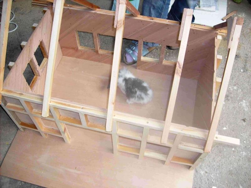 Fachwerk wasserm hle bauanleitung zum selberbauen 1 2 for Fachwerk winkel