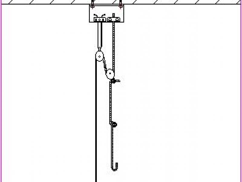 flaschenzug bauanleitung zum selberbauen 1 2. Black Bedroom Furniture Sets. Home Design Ideas