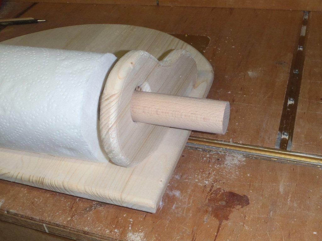 Küchenrollenhalter - Bauanleitung zum Selberbauen - 1-2-do ...